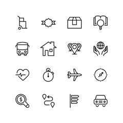 Navigation flat icon