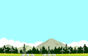 再生可能エネルギー 風景
