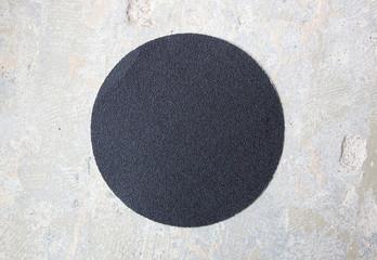 Concrete surface sanding paper