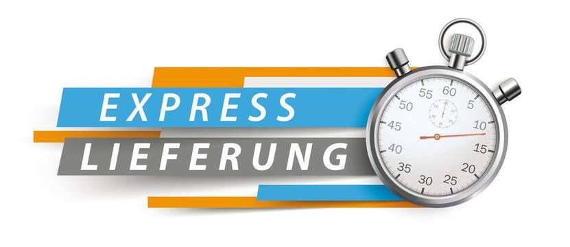 Express Lieferung Stoppuhr