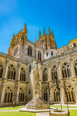 Cloisters of the Burgos Cathedral in Spain