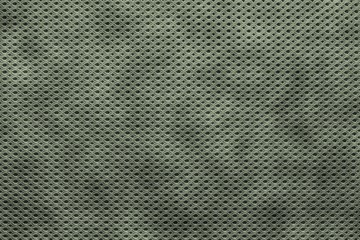 textured a background from knitwear of dark green color