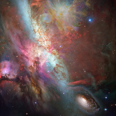 Vivid deep space