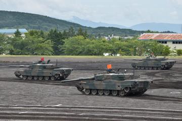 陸上自衛隊の戦車