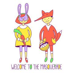 welcome to masquerade