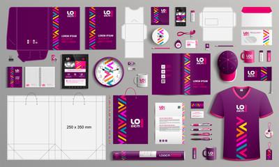 Obraz Stationery template design - fototapety do salonu