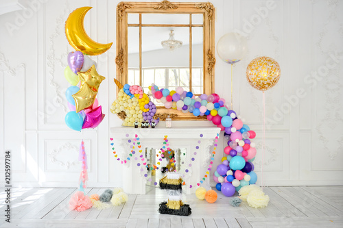 Decorations For Birthday Party A Lot Of Balloons Birthday Party