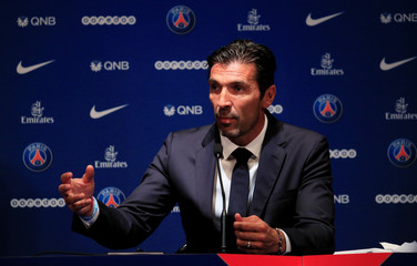 Paris St Germain Introduce New Goalkeeper Gianluigi Buffon