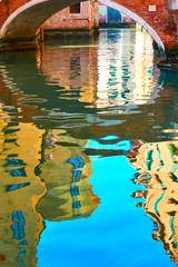 Venetian mirror - Venice in water reflections