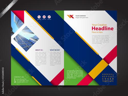 Brochure design template company profile design stock image and brochure design template company profile design flashek Image collections