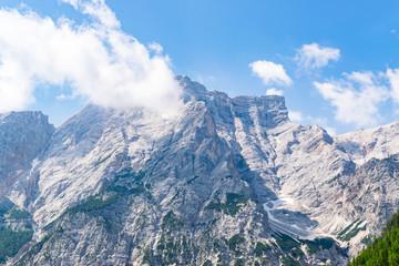 Südtirol, Pustertal und Seekofel im Sommer
