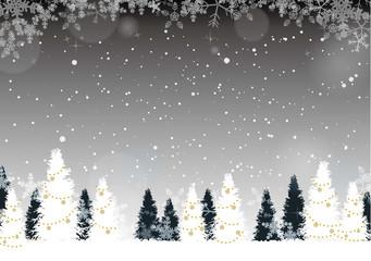 クリスマス・新年の背景素材6