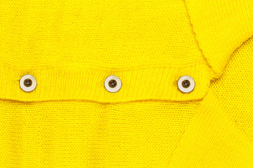 Button on yellow jersey