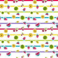 Summer Fruits Patterns