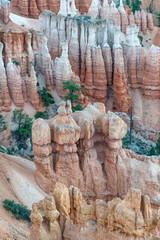 Bryce Canyon National Park rock formations, Utah