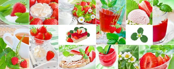 Strawberries  -  Drinks and food