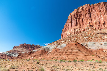 Capitol Reef mountains, Utah
