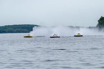 Tuinposter Water Motor sporten Hydroplane racing
