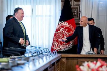 U.S. Secretary of State Mike Pompeo visits Afghanistan