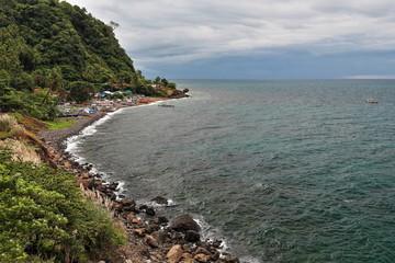 Coastal area facing the Sulu sea-Culipapa barangay. Hinoba-an town-Negros occidental-Philippines. 0488