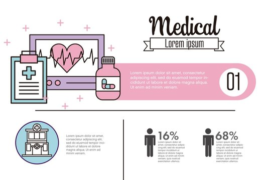 Medical Infographic Layout