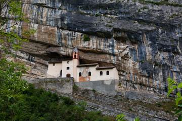 Hermitage of Saint Columban. Rovereto, province of Trentino-Alto Adiges, Bolzano, Italy