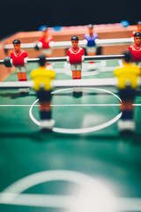 table football soccer game players (kicker)