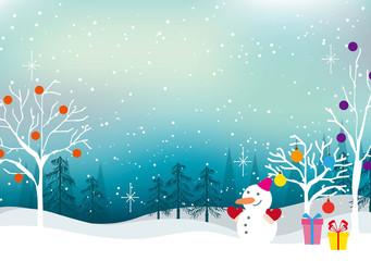 クリスマス・新年の背景素材12