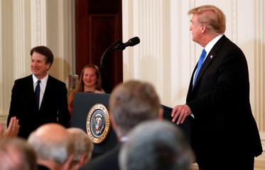 U.S. President Donald Trump introduces Supreme Court nominee in Washington