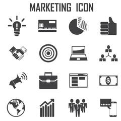 Marketing icon vector .