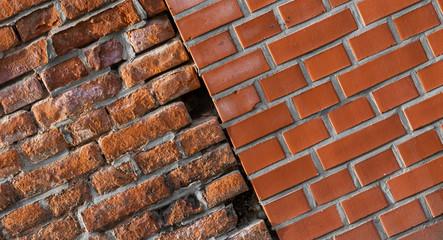 Mauerwerk alt und neu