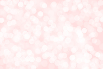 Pink bokeh abstract light background