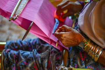 Kayan woman (Long Neck People)