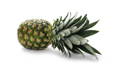 Pineapple, ananas isolated on white background