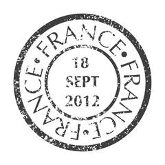 Postal Stamp from France