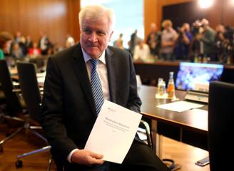 "German Interior Minister Seehofer presents his ""Migrant Masterplan"" in Berlin"
