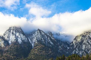 Clouds in Bucegi Mountains