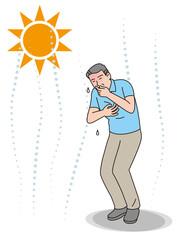 シニアの熱中症の症状 吐き気