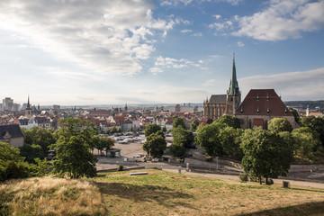 Domplatz in Erfurt, Germany