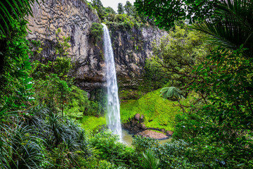 Türaufkleber Wasserfalle Bridalveil Fall on morning