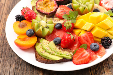 colorful healthy eating