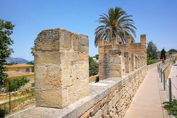 Alcudia, Mallorca, old city wall
