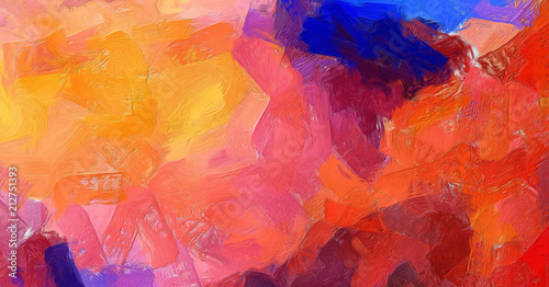 Painting Soft Abstract Art