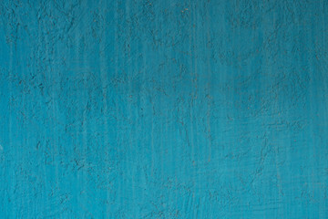texture of a blue plaster wall