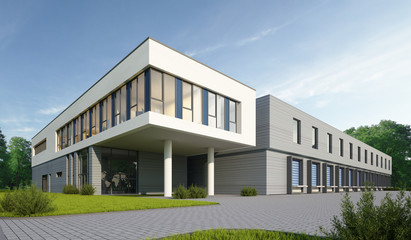 Logistikgebäude 1