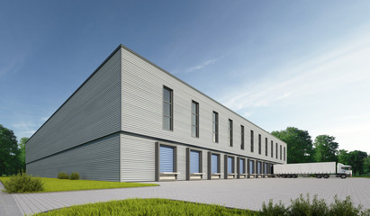 Logistikgebäude 2