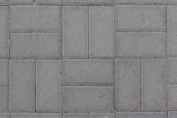 Cobblestone pavement with twin cobbles
