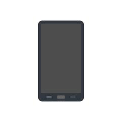 Smartphone icon. Flat style smartphone vector illustration. Smart phone