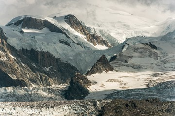 Wall Mural - Mt Blanc Alpine Landscape
