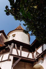 Mysterious Bran Castle. Tourist attraction of Romania